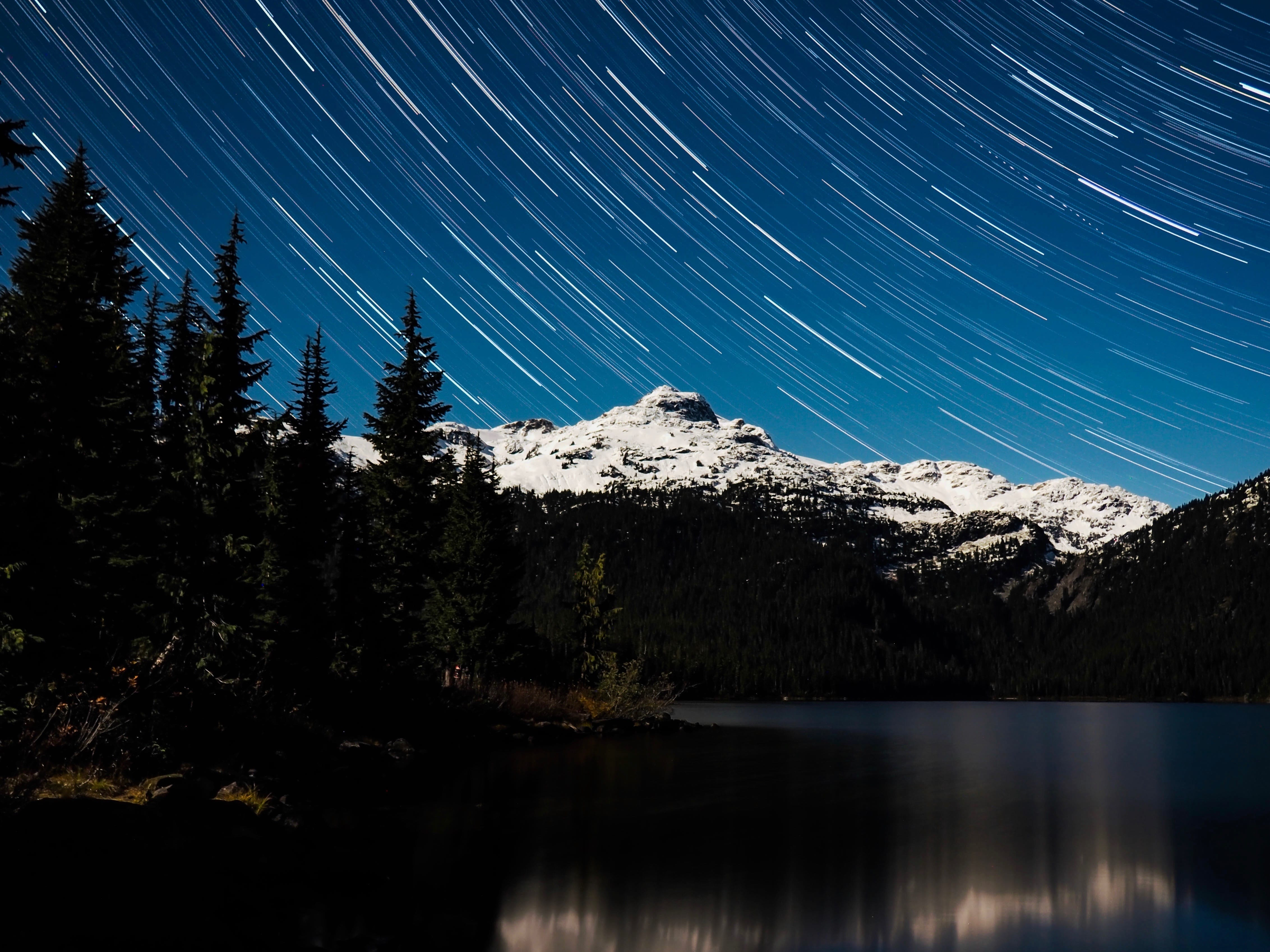 Learning to shoot star trails