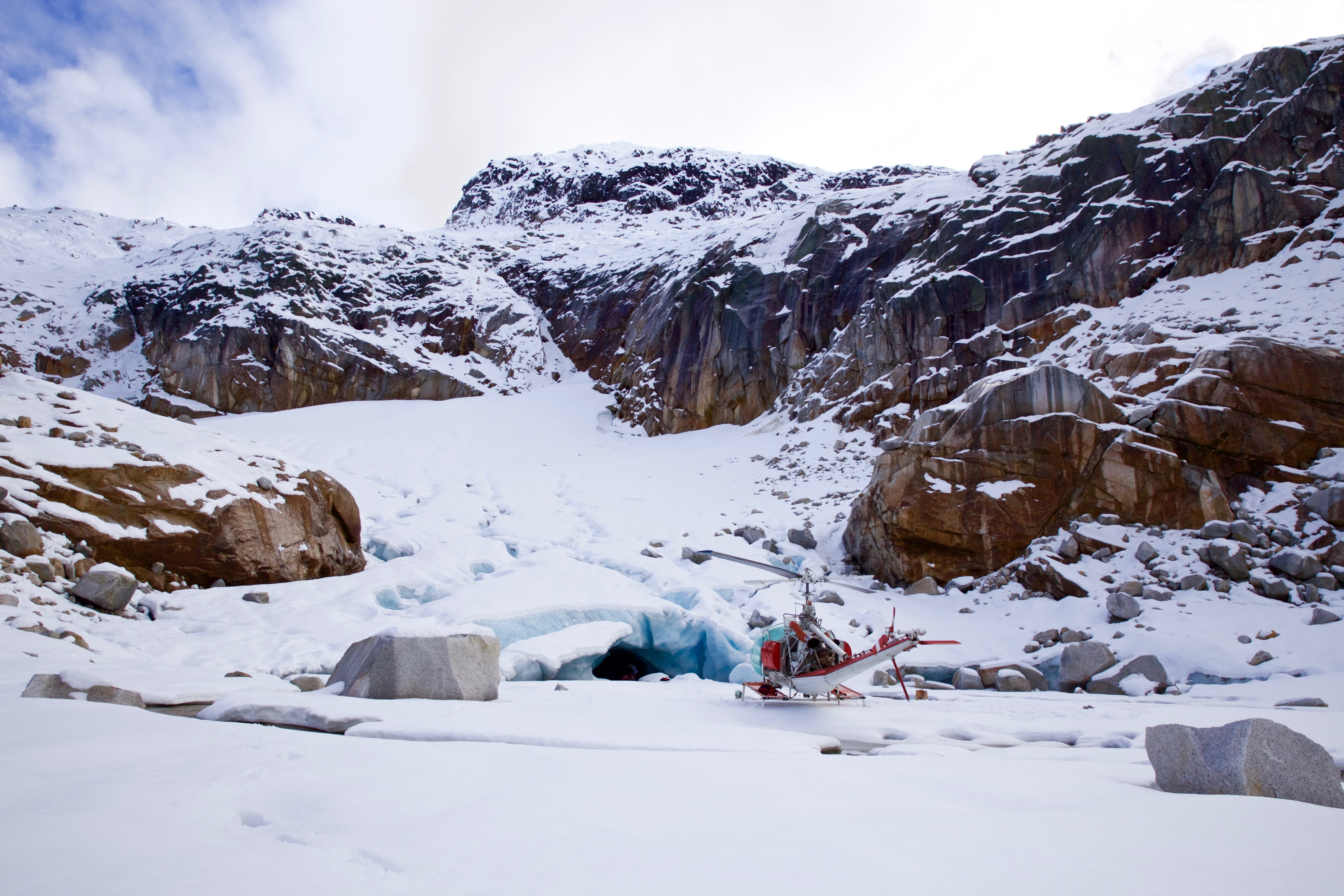 Compass Heli Tours Ice Caves