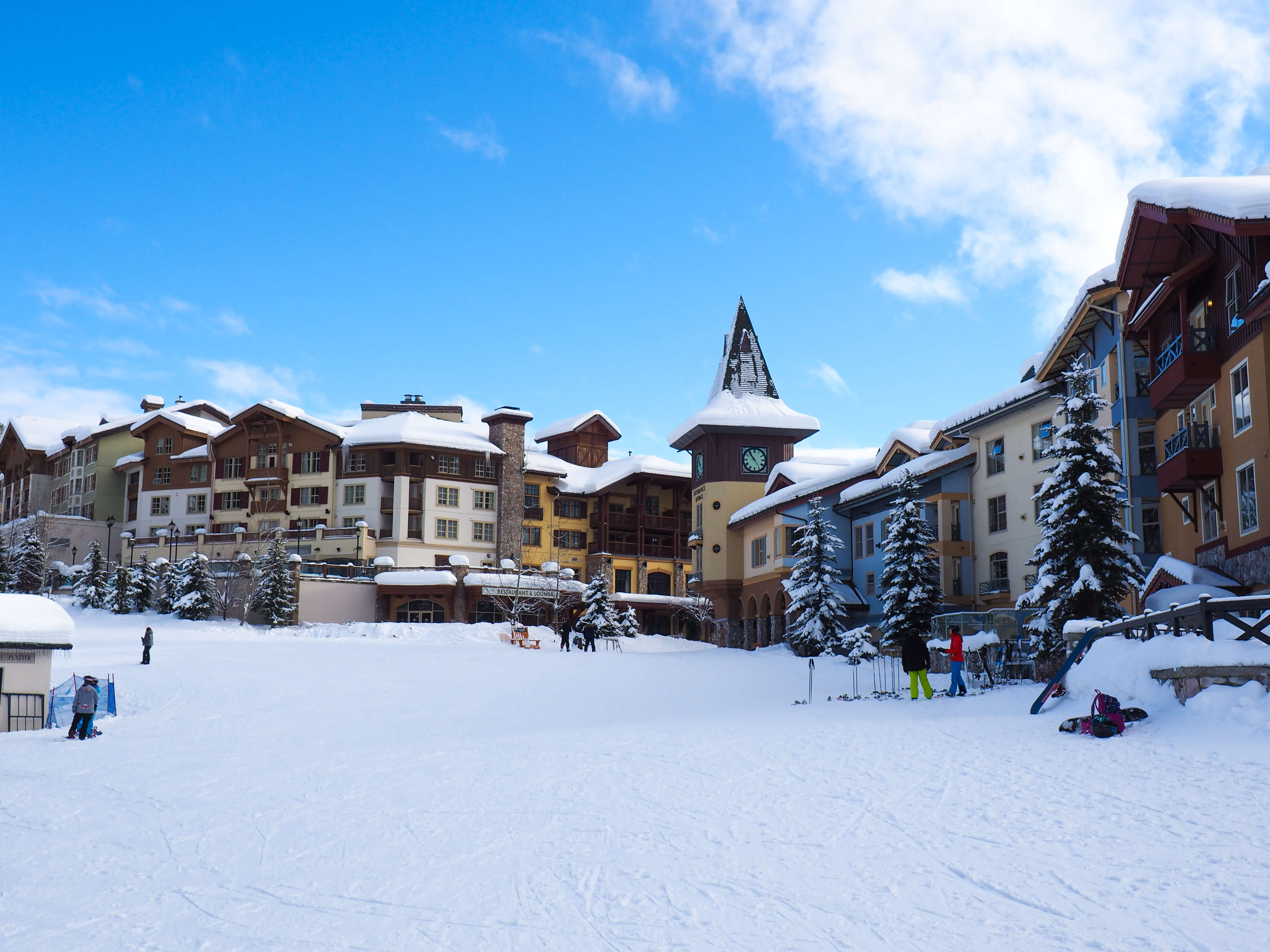 Things To Do At Sun Peaks in Winter