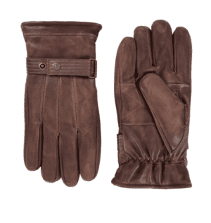 Distressed Leather Gloves